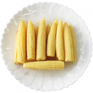 Canned mini corn