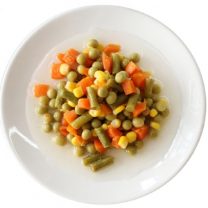 Canned mix vegetables