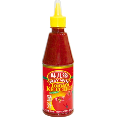 OEM Factory Supplier Tomato Ketchup 500g