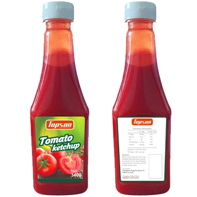 Hot Selling Organic Tomato Ketchup 10g Sachet Package