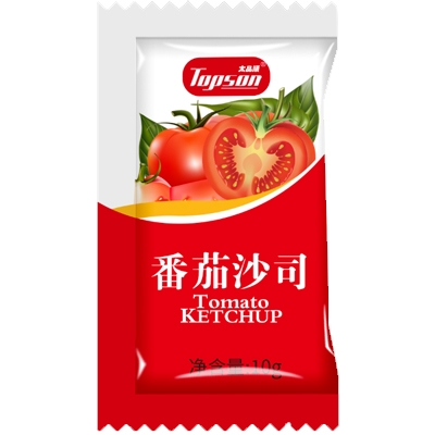 Hot Selling Organic Tomato Ketchup 10g Sachet Package - HangFat