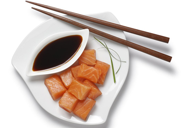 What effect does soy sauce have on human health?