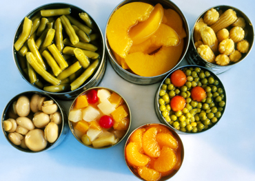 It is misunderstanding that canned food contains preservatives
