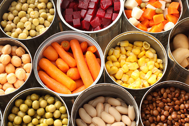 No preservatives in canned vegetables, fresher than fresh vegetable
