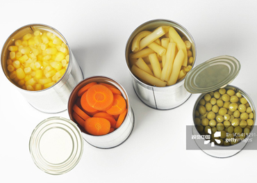 Introduction of canned foods