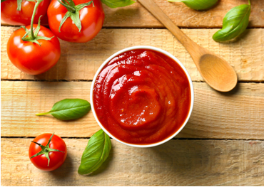 How is tomato paste made in factory